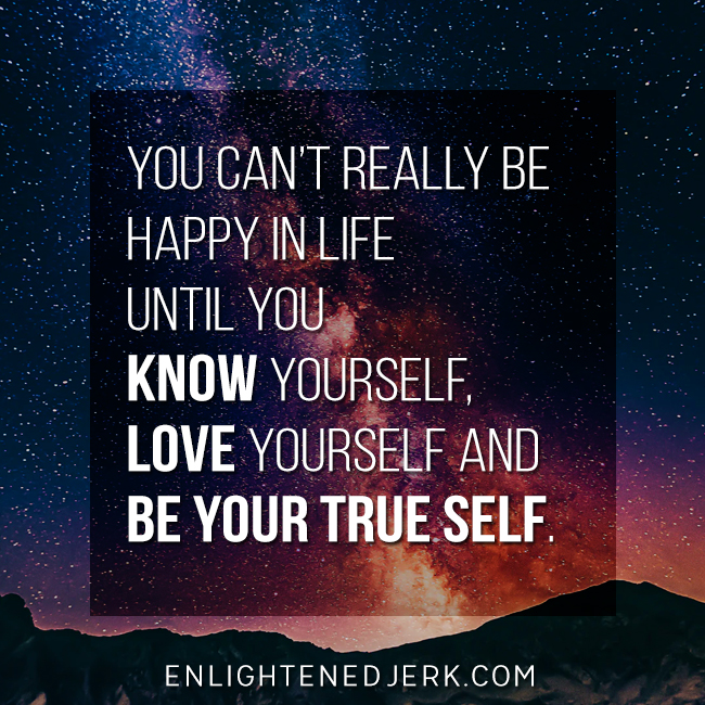 Know, love, be you!
