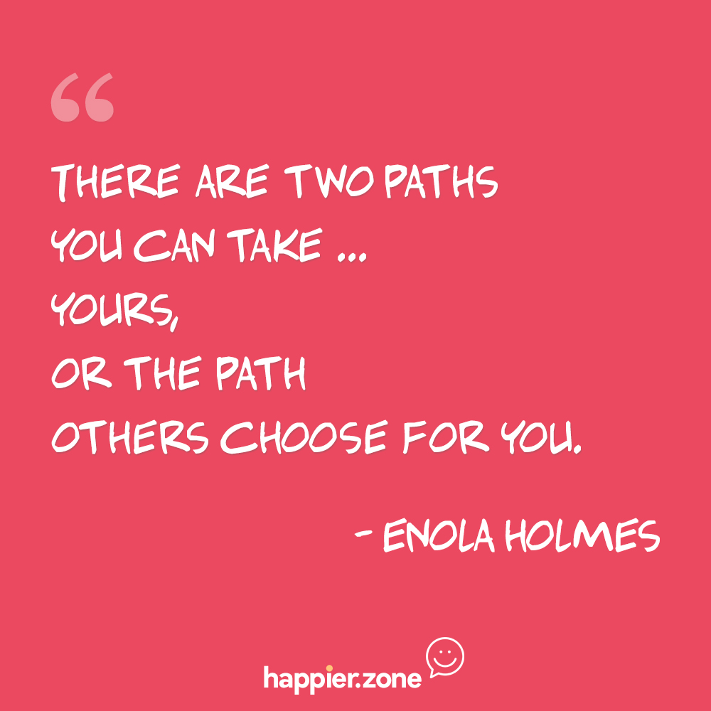 There are two paths you can take…