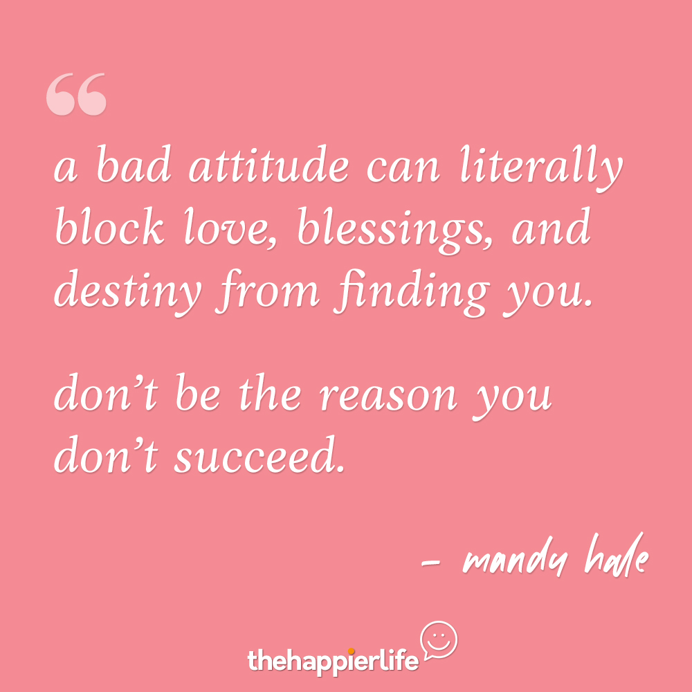 Best quotes about attitude